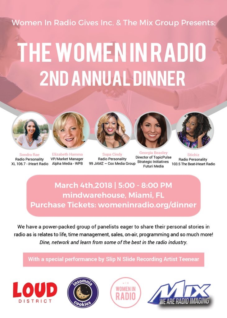 Women In Radio Dinner – Stichiz